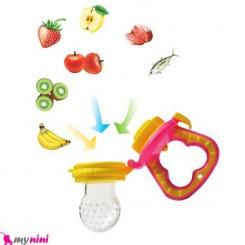 پستانک غذا و میوه خوری سیلیکونی فلاور بی بی Flower Baby Feeding Pacifier