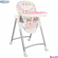 صندلی غذاخوری نوزاد و کودک گراکو Graco Contempo Poppy Highchair