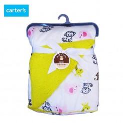 پتو  دو لایه زرافه و میمون کارترز Carter's blanket