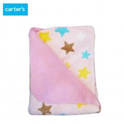 پتو صورتی ستاره ای کارترز