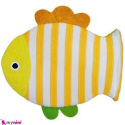لیف عروسکی نوزاد و کودک ماهی زرد Bathing glove