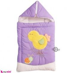 قنداق فرنگی تترون یاسی جوجه Baby Sleeping Bag