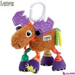 آویز کریر و آویز تخت جغجغه ای گوزن لمِیز Lamaze toys
