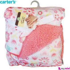 پتو گل لاله نوزاد و کودک کارترز Carter's
