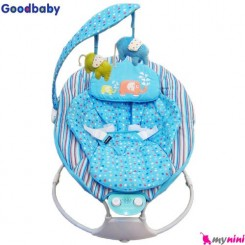 گهواره برقی موزیکال نوزاد آبی گود بی بی Goodbaby cradling bouncer