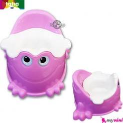 توالت فرنگی کودک صورتی قورباغه تاتیا Tatia frog potty