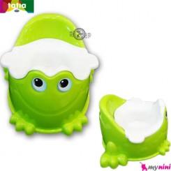 توالت فرنگی کودک سبز قورباغه تاتیا Tatia frog potty