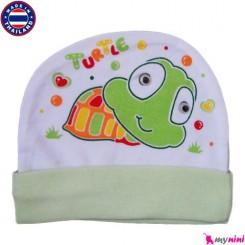 کلاه کشی نوزاد و کودک لاک پشت Cotton Hat