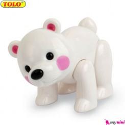 خرس قطبی اسباب بازی تولو TOLO Toys