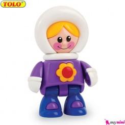 دختر اسکیمو اسباب بازی تولو TOLO Toys