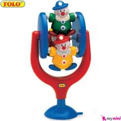 دلقک چرخشی اسباب بازی تولو TOLO Toys