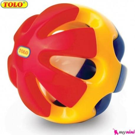توپ صدادار و غلتان نوزاد و کودک تولو TOLO Toys
