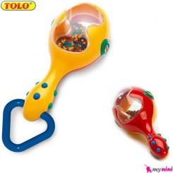 جغجغه دسته دار ماراکا تولو TOLO Toys