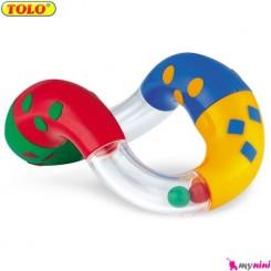جغجغه و دندانگیر پیچشی نوزاد و کودک تولو TOLO Toys