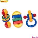 ست جغجغه 3 عددی تولو TOLO Toys