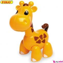 زرافه اسباب بازی تولو TOLO Toys