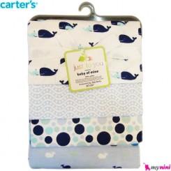 خشک کن و روانداز 4 عددی نهنگ کارترز Carter's