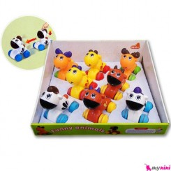 حیوانات کششی و قدرتی اسباب بازی کودک Funny Animal Toys