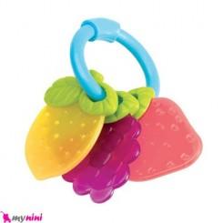 دندانگیر ژله ای میوه ای 3 عددی نوزاد Fruity Baby Teether