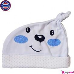 کلاه کشی گره کج نوزاد و کودک Cotton Hat