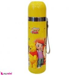 فلاسک استیل بنددار کارتونی پُو Pooh Baby FLask