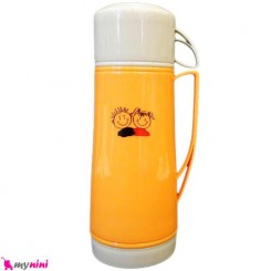 فلاسک شیشه ای نارنجی دختر و پسر Baby FLask