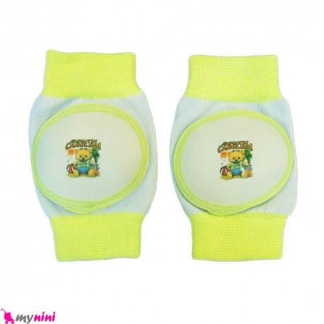 زانوبند کودک سبز فسفری Knee Supporter