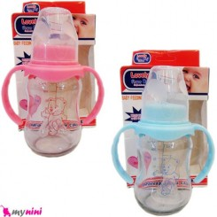 شیشه شیر پیرکس 125ml فلاور بی بی Flower baby glass bottle