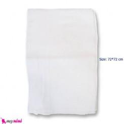 خشک کن و کهنه سفید پنبه ای نوزاد و کودک Baby cotton dryer