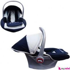 کریر نوزاد و کودک برزنتی سُرمه ای طوسی Infant car seat