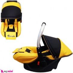 کریر نوزاد و کودک برزنتی زرد مشکی Infant car seat