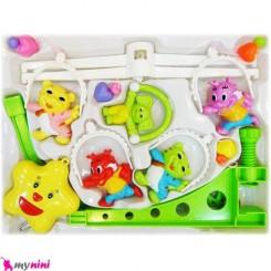 آویز تخت موزیکال نوزاد و کودک ببری Baby musical