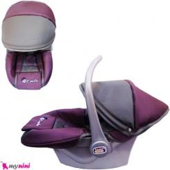 کریر نوزاد و کودک برزنتی بادمجانی نوک مدادی Infant car seat