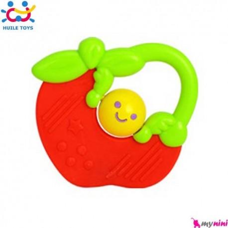 دندانگیر ژله ای نوزاد و کودک سیب هویلی تویز Huile Toys teether