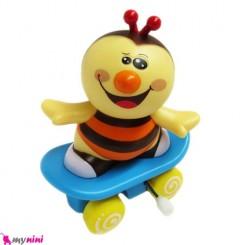 زنبور کوکی اسکیتی اسباب بازی نوزاد و کودک Skateboard Bee toys