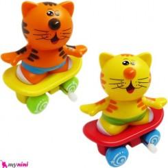 ببر کوکی اسکیتی اسباب بازی نوزاد و کودک Skateboard tiger toys