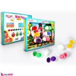 تخم مرغ فکری اسباب بازی کودک گلدونه Educational toys
