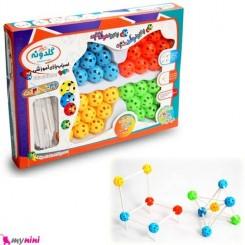 ساخت و ساز آموزشی مدل مولکولی کودک Educational toys