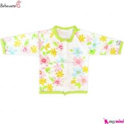 مانتو نوزاد و کودک طرح رنگارنگ به آوران Behavaran Baby Clothes