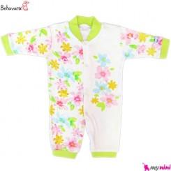 سرهمی نوزاد و کودک طرح رنگارنگ به آوران Behavaran Baby Clothes