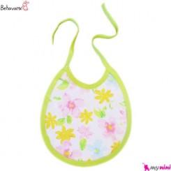پیشبند نوزاد و کودک طرح رنگارنگ به آوران Behavaran Baby Clothes