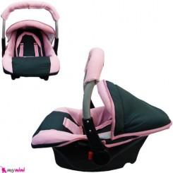 کریر نوزاد و کودک صورتی نوک مدادی اسپرینگ Infant car seat