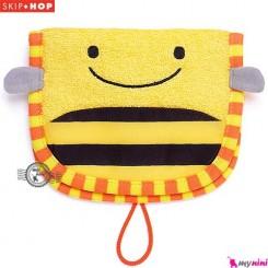 لیف عروسکی نوزاد و کودک زنبور اسکیپ هاپ Skip Hop wash mitt