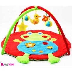 تشک بازی موزیکال بچه قورباغه Frog baby play gym