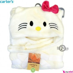 پتو کلاهدار کارترز کیتی Carter's baby hooded blanket
