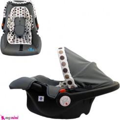 کریر نوزاد قهوه ای خالدار واوا ترکیه Vava Infant car seat