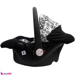 کریر نوزاد سفید و سیاه واوا ترکیه Vava Infant car seat