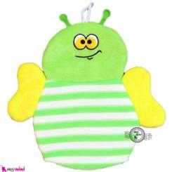 لیف عروسکی دستی بچه زنبور سبز Baby bathing glove