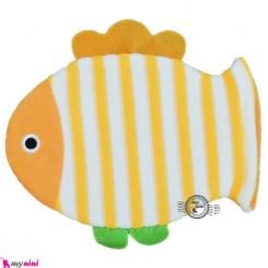لیف عروسکی دستی بچه ماهی نارنجی Baby bathing glove