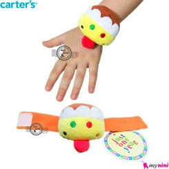 مچبند جغجغه ای پولیشی نوزاد جوجه کارترز Carter's wrist rattle